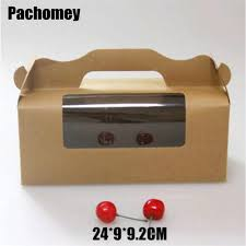 Aliexpress Com Buy Wholesale 24 9 9 2cm Kraft Paper Box With