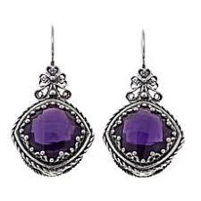 amethyst earrings amethyst earrings hsn
