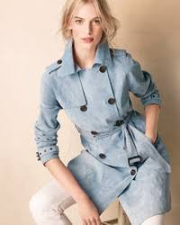 light blue trench coat neiman marcus suede double breasted trench coat where to buy how