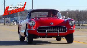 test driving 1957 chevrolet corvette fuelie 283 v8 extremely