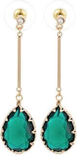 aldo earrings aldo women s mixed drop dangle earrings green 23310705 cares