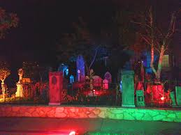 great halloween home haunts of los angeles one dark halloween night