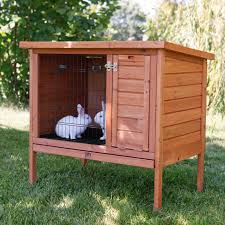 Large Rabbit Hutch Trixie Natura One Story Rabbit Hutch Hayneedle