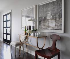 glas italia glass console table dining room transitional with wood