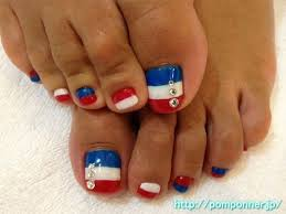 10 cute fourth of july toe nail art designs ideas trends