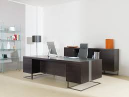 Executive Desks Office Furniture Large Desk Wood And Metal Ideal For Executive Office Idfdesign