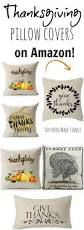 Thanksgiving Pillow Covers Fall Favorite Thanksgiving Pillow Covers