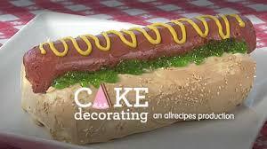 how to make a dog cake video allrecipes com