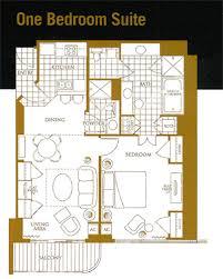 Panorama Towers Las Vegas Floor Plans 1 Bedroom Floorplan Mgm Grand Signature Suites