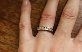 my wedding band nest essentials wedding engagement ring