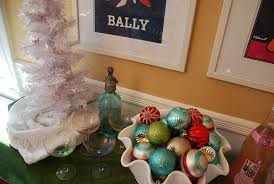 Green Decoration For Christmas by Christmas Decorations In Teal Red And Mint Green