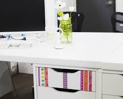 Organize Your Desk by Organize Your Desk With Washi U2014 Craft Smith