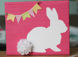 easter bunny craft idea things to make easter decor and child room