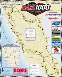 Tecate Mexico Map by Baja 1000 Course Map U2013 Score International Com