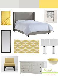 bedroom perfect yellow gray and white bedroom ideas 91 for your