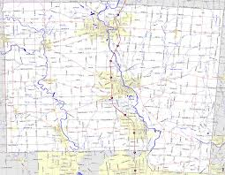 Map Oh Ohio by Bridgehunter Com Miami County Ohio