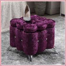 gorgeous purple storage ottoman purple ottomans poufs youll love