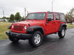 jeep unlimited red jeep wrangler unlimited in hutchinson ks allen samuels chrysler