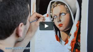 art reproduction tamara de lempicka the polish hand