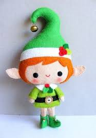 sewing patterns christmas elf pdf sewing pattern to make a felt christmas elf by kosucas