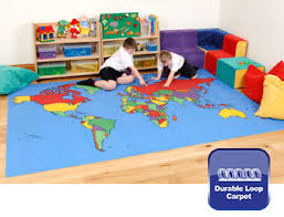 e4e gigantic world map rug