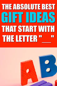 the ultimate list of gifts that start with the letter family