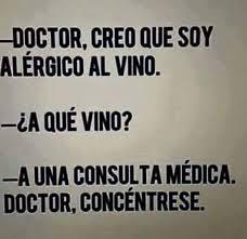 Memes En Espa Ol - doctor creo que soy alérgico memes en español