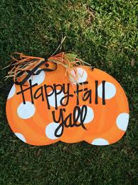 pumpkin door decoration 21 fabulous etsy fall decorations to buy in 2017