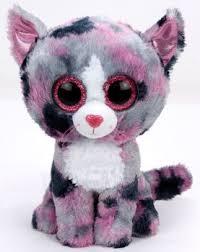 ty beanie boo lindi cat pink 10