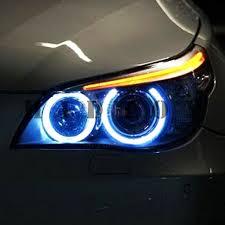 Led Blue Light Bulb by Bmw Angel Eye E90 E91 3 Series Halo Ring Marker Led Hyper Blue