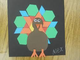 thanksgiving turkey patterns mrs t u0027s first grade class pattern block turkeys