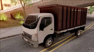 mitsubishi fuso camper mitsubishi fuso truck for gta san andreas