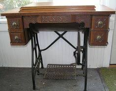 White Sewing Machine Cabinet by Antique White Sewing Machine With Cabinet Designed For Change