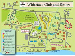 New York Ski Resorts Map by Directions Whiteface Club U0026 Resort