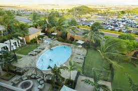 Airport Hotels Become More Than A Convenient Pit Pool Pit Picture Of Courtyard By Marriott Kahului