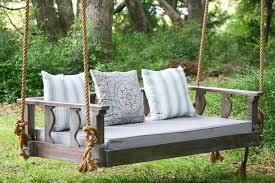 outdoor u0026 garden custom wooden patio swing design with star