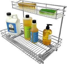 how to organize the sink cabinet lynk professional sink cabinet organizer