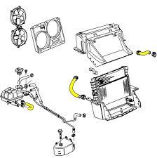 c5 corvette dimensions 1995 1996 corvette engine cooling system rubber hose set lt1