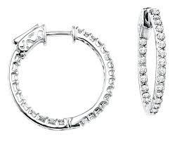 1 4 carat diamond earrings 1 carat diamond earrings white gold watford health cus