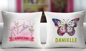 personalized pillow personalized pillow covers monogram online groupon