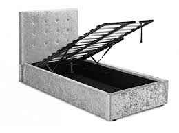 Single Ottoman Bed Rimini Single Ottoman Bed Single Bed Frames Furn On