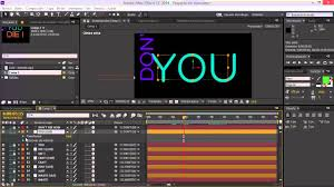 tutorial kinetic typography after effects tutorial after effects kinetic typography facil youtube