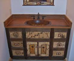 Reclaimed Wood Vanity Bathroom 33 Stunning Rustic Bathroom Vanity Ideas Remodeling Expense
