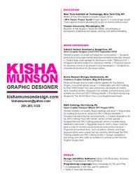 Graphic Design Objective Resume Graphic Design Photography Marketing Resume Creative Resume