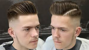 skin fade comb over hairstyle how to skin fade for beginners skin fade pompadour haircut