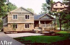 split level house with front porch change a split level to a craftsman search porches