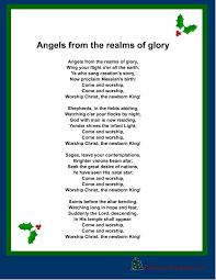 printable lyrics free printable christmas carols and songs lyrics with regard to