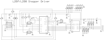 component stepping motor driver circuit unipolar stepper