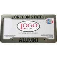 byu alumni license plate frame oregon state license plate frames sports