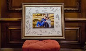 wedding signing frame signature frame for guests to sign great alternative to guest
